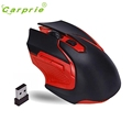 CARPRIE Professional Gaming Wireless Mouse 6 Buttons Optical 3200 DPI Computer Game Mice For PC Laptop