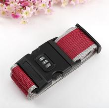 F09100 Travel Luggage Belt Suitcase Strap Secure Password Lock Safe Belt Strap Baggage Backpack Belt(China (Mainland))