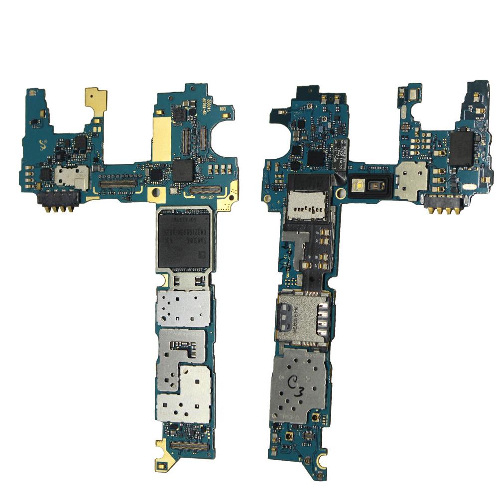 MAIN MOTHERBOARD (Unlock) FOR Samsung GALAXY Note 4 N910c 32GB(China (Mainland))
