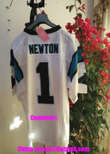 Canuven American Football Jersey Cam #1 Newton Custom Throwback College Cheap Authentic Sports Jerseys Mens Womens Youth 2017(China (Mainland))