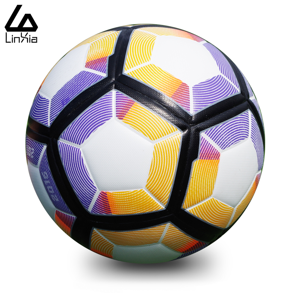 2016 New A+++ Premier league soccer ball league jogging football Anti-slip granules ball TPU size 5 and size 4 football balls(China (Mainland))