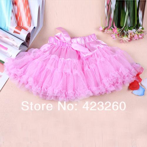 Fashion girls skirts girls tutu skirts kids baby fluffy pettiskirts(China (Mainland))