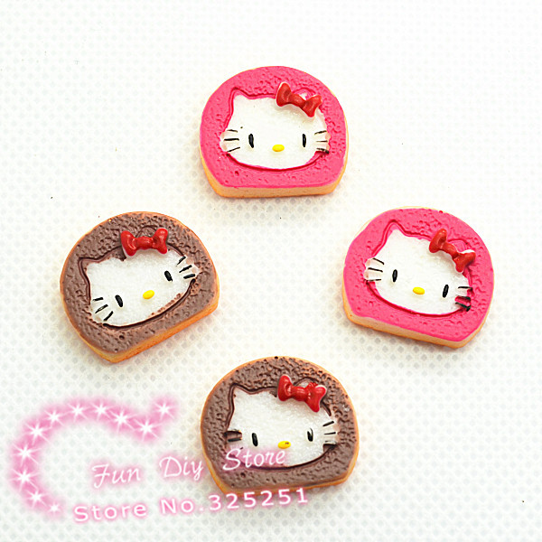 resin cabochon cat biscuit flat back ornament 16*19mm 50pcs/lot Free shipping(China (Mainland))