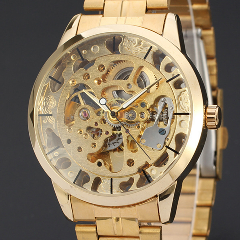 парфюм принадлежит winner skeleton automatic mechanical watch меня