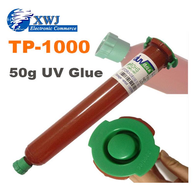 50G Tp-1000 UV Glue LOCA Liquid Optical Clear Adhesive For Lcd iPhone Samsung HTC Glass Repair(China (Mainland))