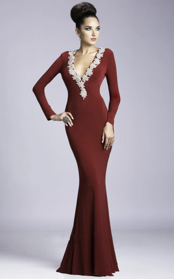 Turmec » long sleeve new years eve dresses