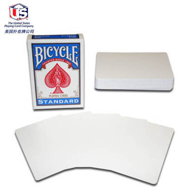 100% ORIGINAL Bicycle double white Deck Playing Cards Best Poker New Bicycle Playing Card Magic Card(China (Mainland))