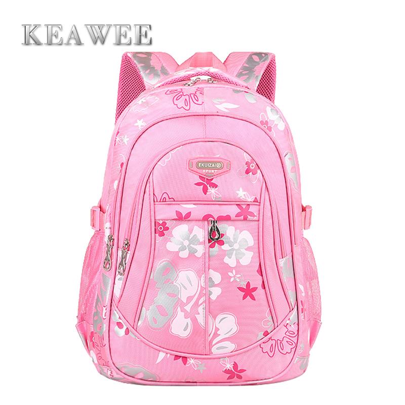 High Quality Ultra-Light Waterproof Child School Bag Lovely Children Backpack Girls Backpacks Grade 1-6 Girls Orthopedic Bags<br><br>Aliexpress