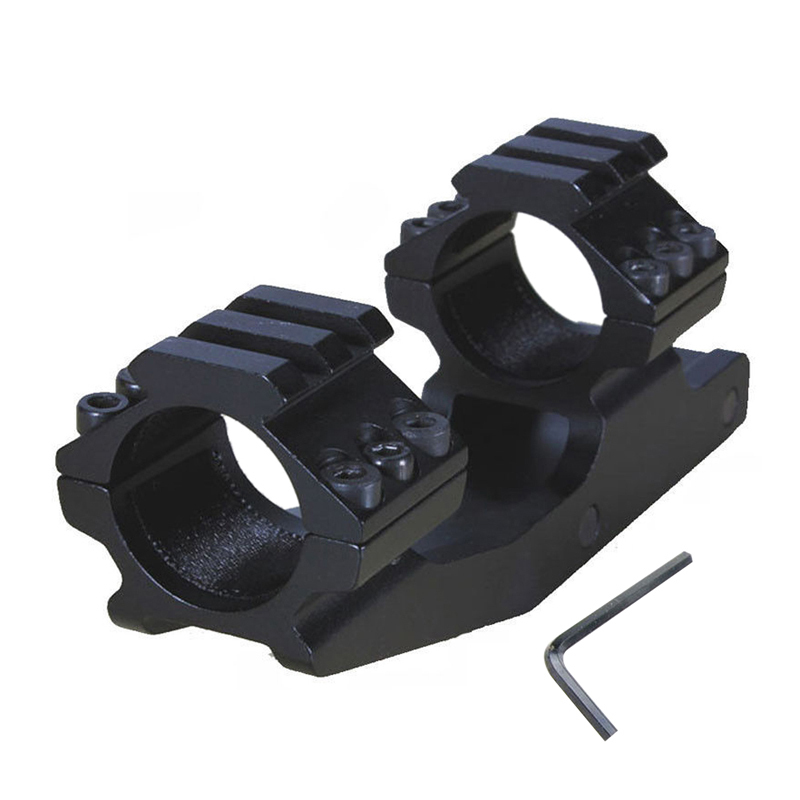 High Quality Rifle Scope Mount 30mm Dual Ring Cantilever Rifle Scope Mount Picatinny Rail Hunting Accessories