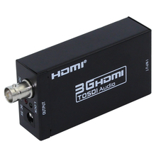 Mini HDMI TO SDI Converter 3G Full HD 1080P HDMI to SDI Adapter Video Converter with Power Adapter for Driving HDMI Monitors(China (Mainland))