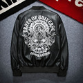 Fashion Men s Motorcycle Korean Style Youth Locomotive PU Leather Trend Casual Men s Jacket