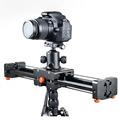 CS V500 Travel Portable Mini Camera Slider Adjustable Double Distance Plus 100cm DSLR Free Shipping