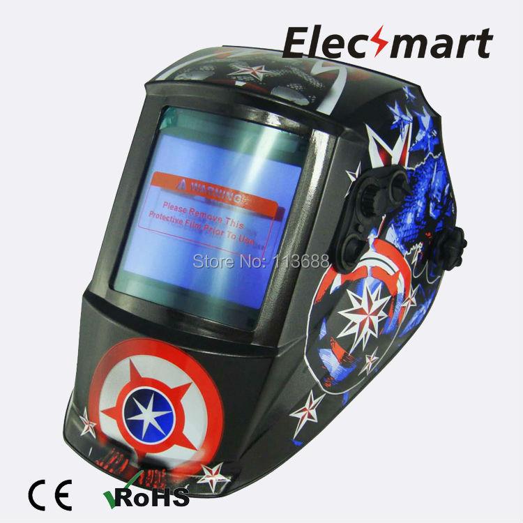 American captain Auto darkening welding helmet TIG MIG MMA electric welding mask/helmet/welder cap/lens for welding(China (Mainland))