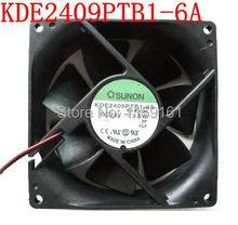 Free Shipping original SUNON  KDE2409PTB1-6A   420 2.2KW 9025 9CM 24V 3.6W converter fan