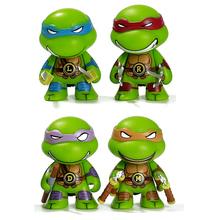 Teenage Mutant Ninja Turtles фигурки Игрушки 4 шт./компл. 8 см ЧЕРЕПАШКИ-НИНДЗЯ Микеланджело, Рафаэль Donatell Brinquedos Бесплатная Доставка(China (Mainland))