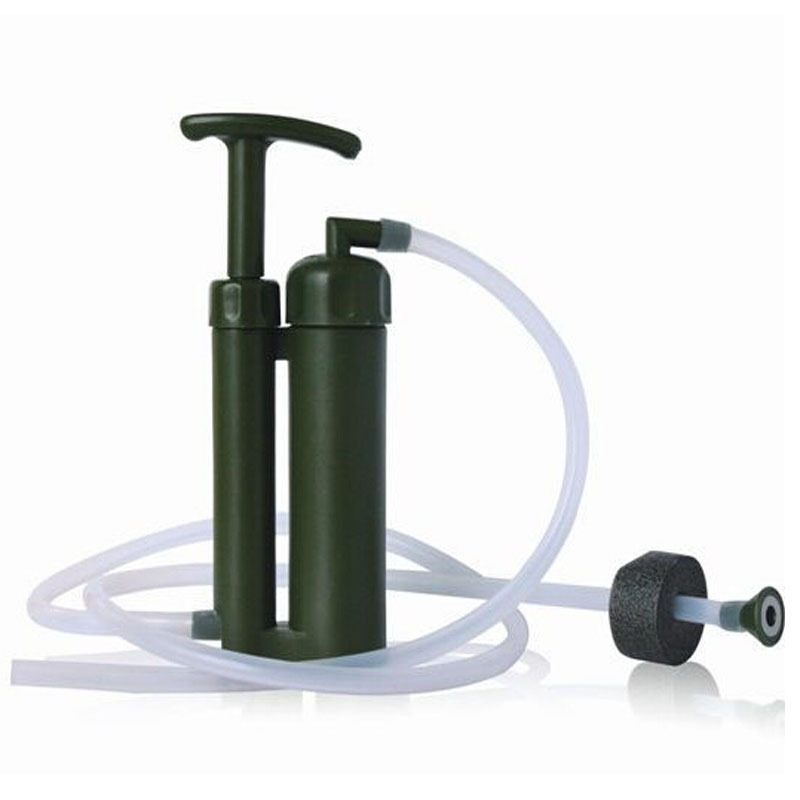 High Qulity Brand Environmental Camping Water Filter Pure Portable Ceramic Purifier Outdoor Survival Hiking Tools Test Past(China (Mainland))