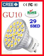 Cool White E27 LED Bulb Led Lamp LED SpotLight 7.5W GU10 E14 MR16 Warm 5050 SMD 29 leds Glass 110-240V Hot Sale Free Shipping(China (Mainland))