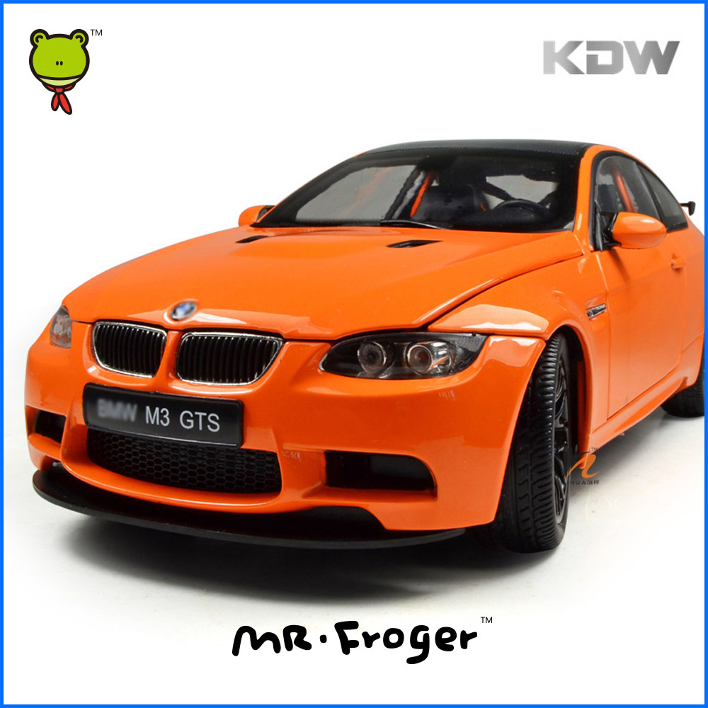Mr.Froger 1:18 Scale M3 GTS Modle alloy Diecast model Refined metal BM Racing Sports Car M Power Pull Back Toy Decoration Orange(China (Mainland))