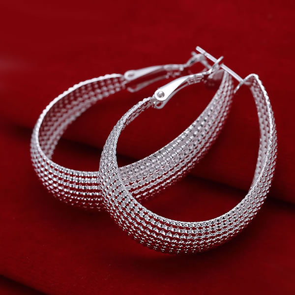 E064 Free Shipping 925 silver fashion jewelry earring 925 silver earrings wholesale bvaa kmha tdqa<br><br>Aliexpress