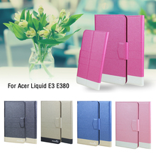 Buy 5 Colors Hot! Acer Liquid E3 E380 Case Luxury Fashion Ultra-thin Flip Leather Exclusive Bifold Phone Cover Card Slots for $3.99 in AliExpress store