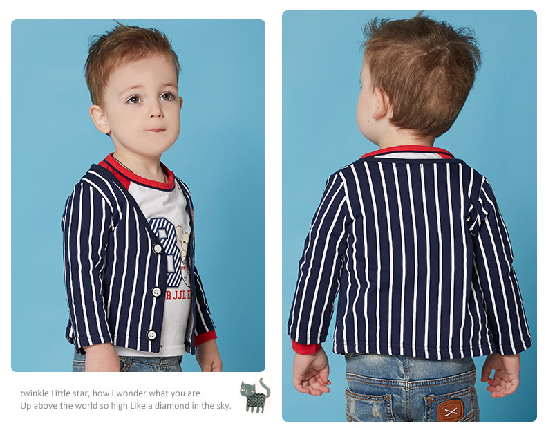 baby boys blazer cotton toddler outwear kids jackets children coats size 1-3t spring child trench kids clothes