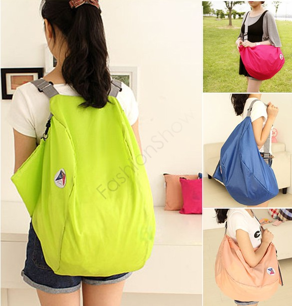 Discount Women Travel Bags Luggage Bags Sports Folding Nylon Travel Backpack Large Capacity Bag 12 Y#-35(China (Mainland))
