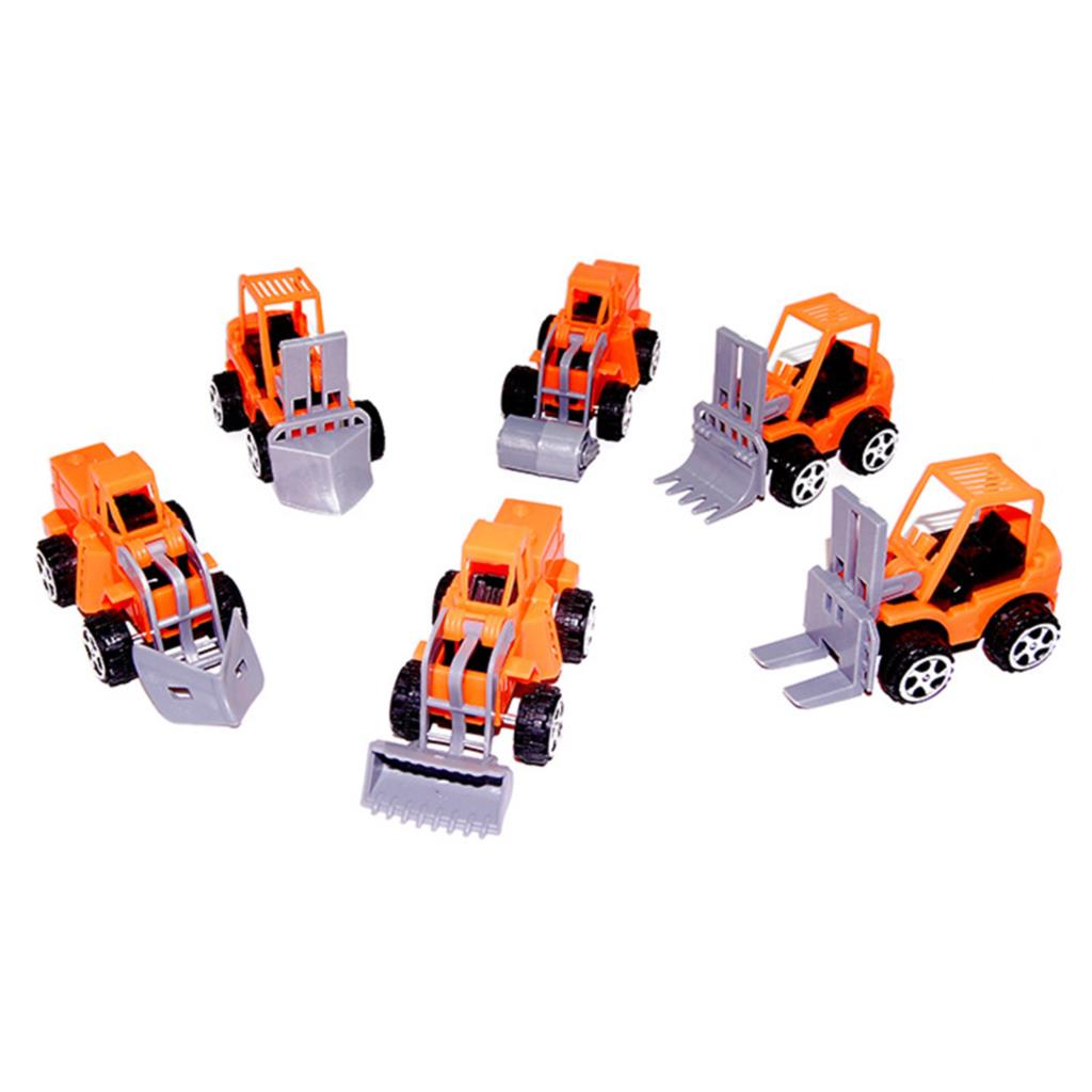 Four Pcs Random Youngsters Academic Toys 2016 Scorching Promoting Automobiles Miniature Excavator Automobiles For Kids Reward Random Fashion
