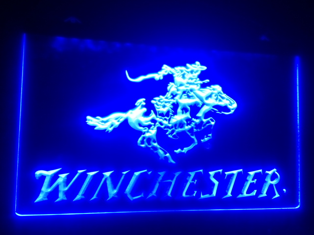 b-107 Winchester Firearms Gun LED Sign Neon Light Sign Display(China (Mainland))
