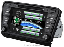 """8""""2din car radio for Skoda Octavia A7 2013-2014 with Radio RDS GPS DVD USB SD CanBus OPS IPAS Air conditioner info free shipping(China (Mainland))"""