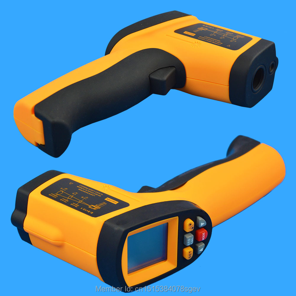 Thermometer IR Infrared Tester Laser Temperature Gun 100% Good Quality New GM700 -50-700 Degree 12 : 1 Non-Contact Digital LCD<br><br>Aliexpress