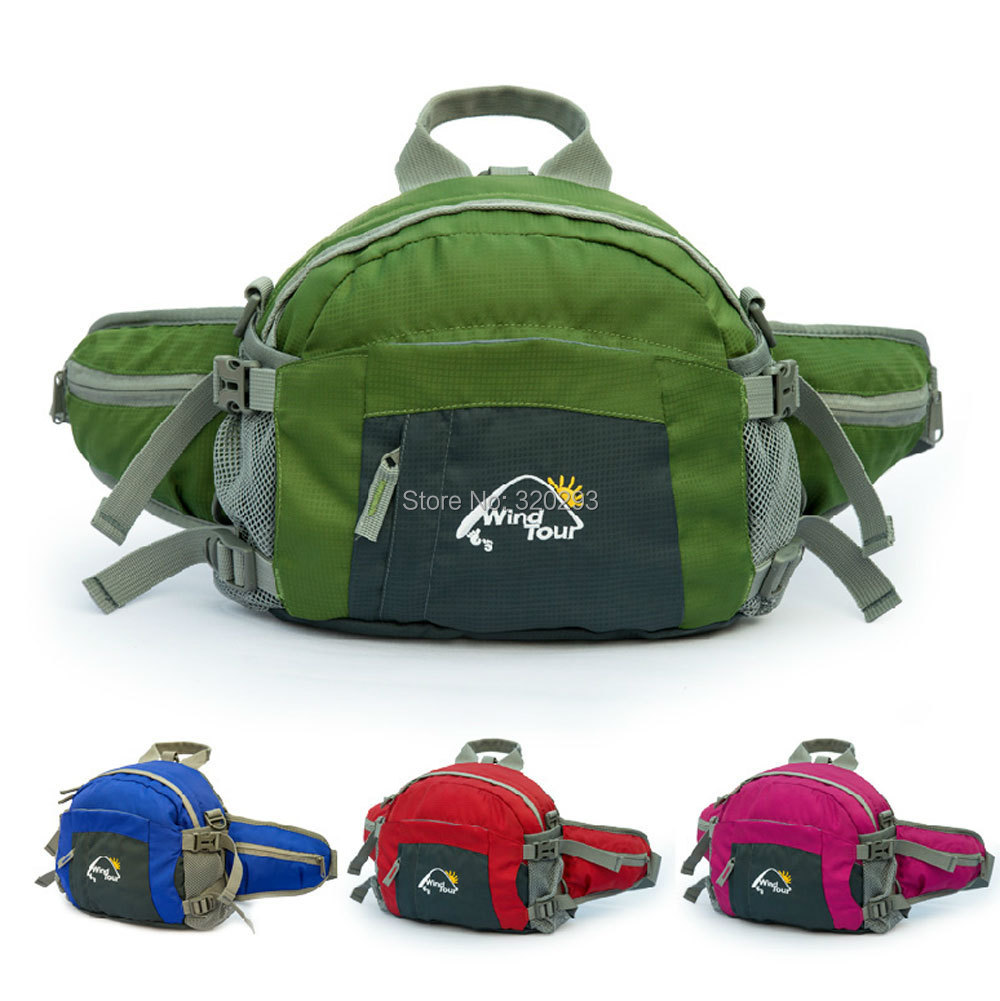 1pc Outdoor multi-function Portable Ultralight Waist/Backpack Hiking Camping Travel Bag - Hishopping store