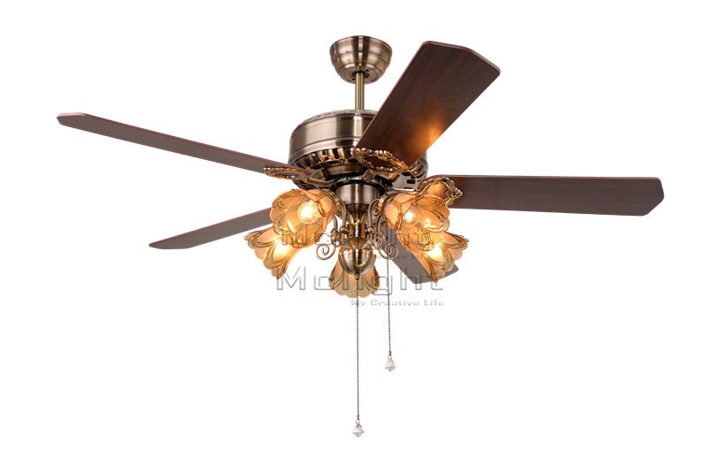 Foyer Ceiling Fan : Modern ceiling fan with light kits for restaurant hotel