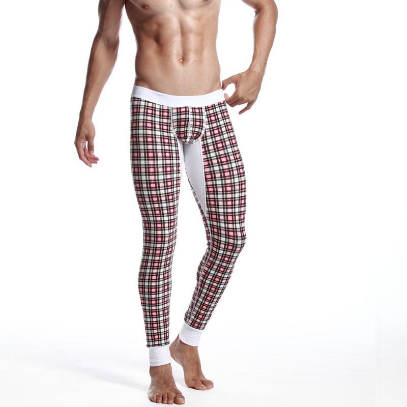 seobean taille basse homme mince legging automne et hiver mince coton long johns pantalons de. Black Bedroom Furniture Sets. Home Design Ideas