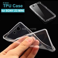 Buy Sony Xperia Z3 compact M55W Ultra Thin 0.3mm Soft Transparent clear TPU case cover phone case bags Z5 Z4 M2 M4 AQUA z3 mini for $1.39 in AliExpress store