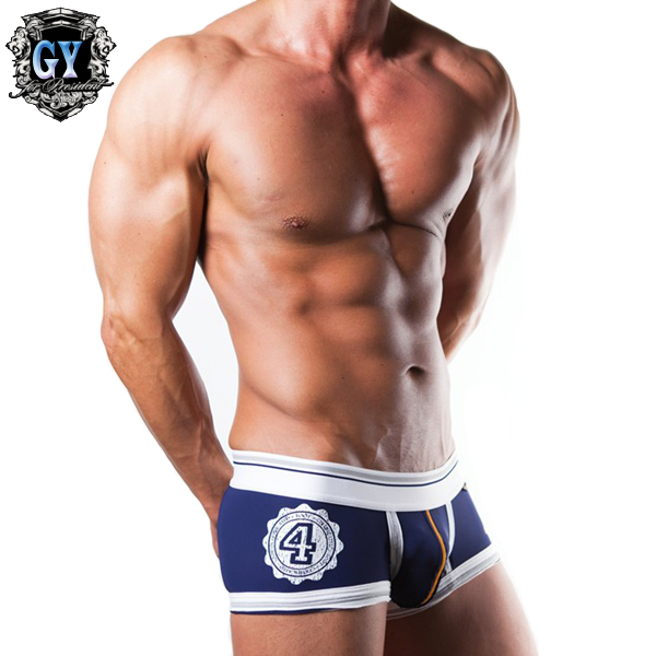 Free shipping! 2015 hot Mens Underwear Cotton Men Boxers sexy men shorts Brand pant for men 5 Colors(N-084)(China (Mainland))
