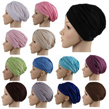 2016muslim scarf women Fashion Hijab Caps Muslim Women Bonnet  Islamic Head Cover Muslim Hat Caps heve not leopard these days.(China (Mainland))