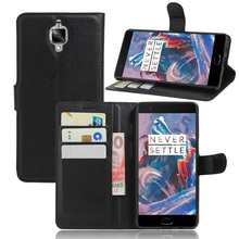 Oneplus 3/OnePlus 3T A3010 Case Wallet Style PU Leather Cover OnePlus Three 3 Card Holder Phone Cases - subin Shenzhen 3c digital Store store