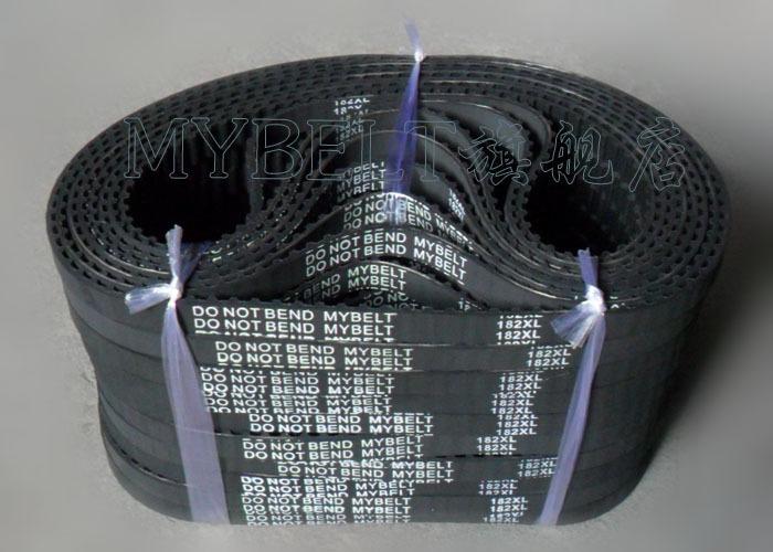 2pcs freeshipping Rubber belt 182XL / 91 tooth conveyor belts socks machine Belt--perimeter =462.28mm(China (Mainland))