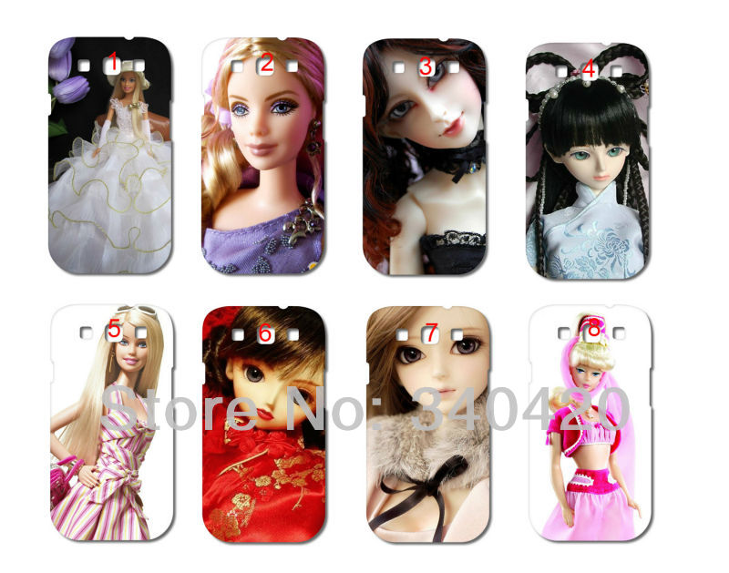 2013 New Style s Cute Barbii doll hard white case cover Samsung i9300 Galaxy SIII + - store