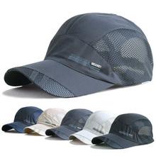 Мода Мужская Лето Открытый Спорт Бейсбол Hat Работает Козырек шапки Горячей Популярные(China (Mainland))