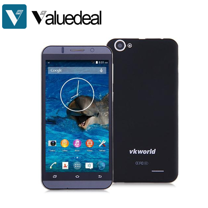 Original VKWORLD VK700 5.5inch IPS HD MTK6582 Quad Core 1.3GHz Android 4.4 Smartphone 1GB RAM 8GB ROM 3G GPS(China (Mainland))