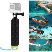 Buy Gopro Floating Handle Bar Handheld Stick Monopod Hand Grip Xiaomi Yi Action Camera GoPro Hero 4 3+3 2 for $3.85 in AliExpress store