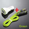 2 1A Dual USB Car Charger Universal Fast Charger For iPhone for Samsung for Mobile Phone