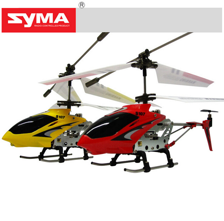 Hot Sale SYMA S107 S107G RC Helicopter 3.5CH mini RC toys with GYRO 100% Original Free Shipping(China (Mainland))