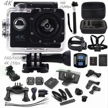 "Action camera F60R/F60 2.0"" 4K 1080P HD  wifi sport camera waterproof 30m go camera pro style+extra battery mini Pro camera cam(China (Mainland))"