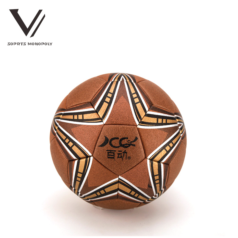 2016 New Arrival High Quality Aroose Brand Official Size 5 PU Soccer Match Training Equipment Anti-slip Football Ball 596(China (Mainland))