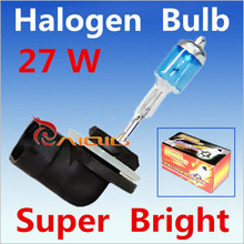 2pcs 881 894 H27 Halogen Bulbs 27W super white Headlights fog lamps day light running parking 6000K 12V Car Light Source(China (Mainland))