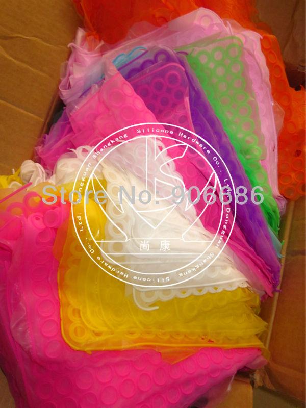 100pcs mixcolors,Colours Silicone Rubber Wristband Bracelet Wrist Band ,DIY friendship silicone rubber bracelets,free shipping(China (Mainland))
