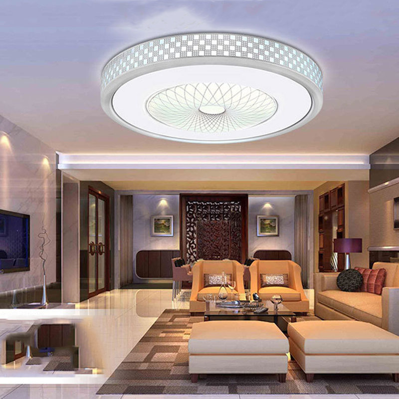 Fashion classic lampshade D300mm ceiling lamp 85-265V 12W led living room bedroom light factory favorable selling(China (Mainland))