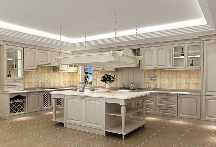 2016 new design hot sales customized American solid wood kitchen cabinet America solid wood kitchen unit free design for you(China (Mainland))
